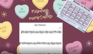 Melodías con mensaje San Valentín
