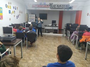 Visita á Autoescola Lemos