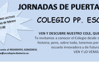 JORNADA PUERTAS ABIERTA 2017